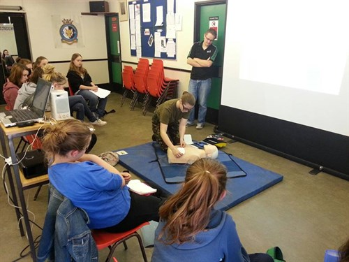 Learn First Aid with Corby Air Cadets - St. Johns