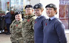 A Weekend of Remembrance and Sporting Success for Corby Air Cadets