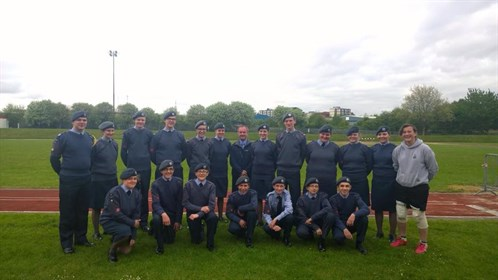 Corby Air Cadets Athletics Team 2015