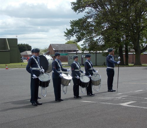 Corby Air Cadets Band 2015