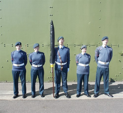 Corby Air Cadets Banner Team 2015