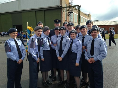 Corby Air Cadets Drill Team 2015