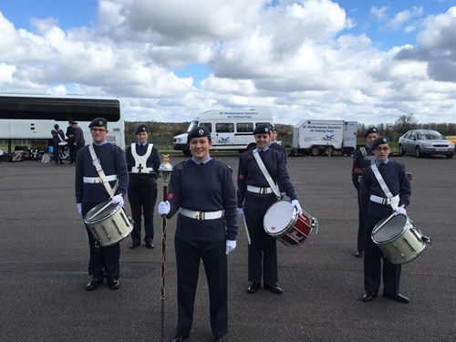 Corby Air Cadets Percussion Section 2016