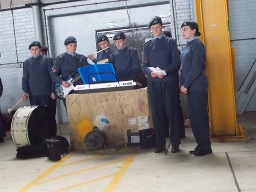 Corby Air Cadets Ensemble 2016