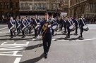 Corby Air Cadet Performs at The Cenotaph