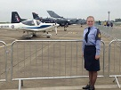 First Official Duty as Station Commanders Cadet for Corby Air Cadet