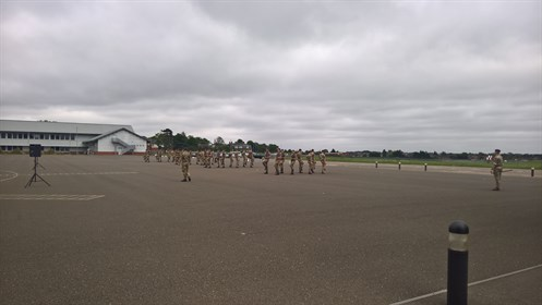QCS Practice for RAF Wittering Families Day