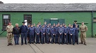Corby Air Cadets meet the Queens Colour Squadron