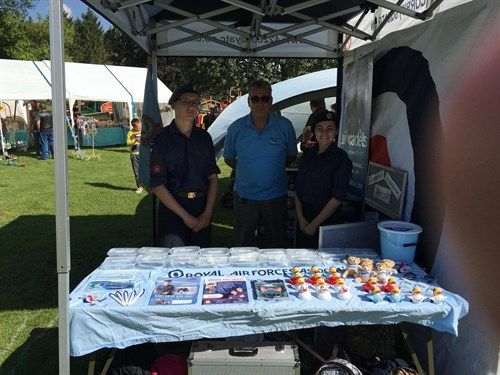 Corby Air Cadets Recruiting at the Annual Transport Gala