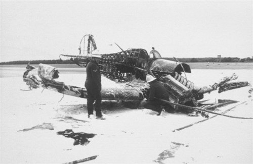 Scene of the Air Accident in 1991