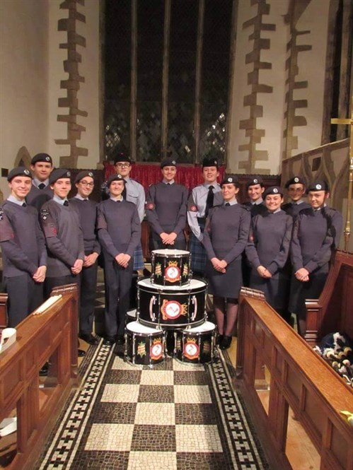 Corby Air Cadets Pipe And Drum Band