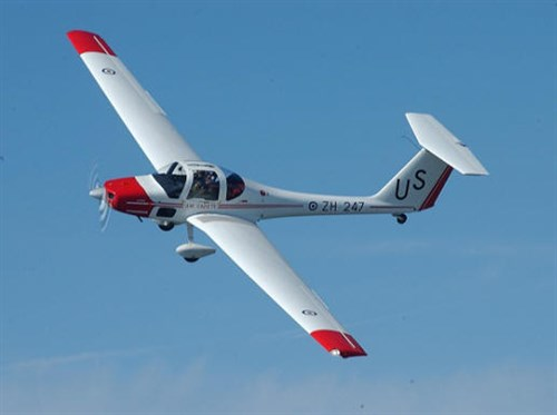 The Vigilant glider that cadets will get to fly
